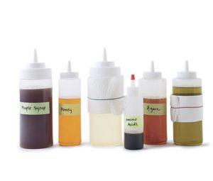 squeeze-bottles