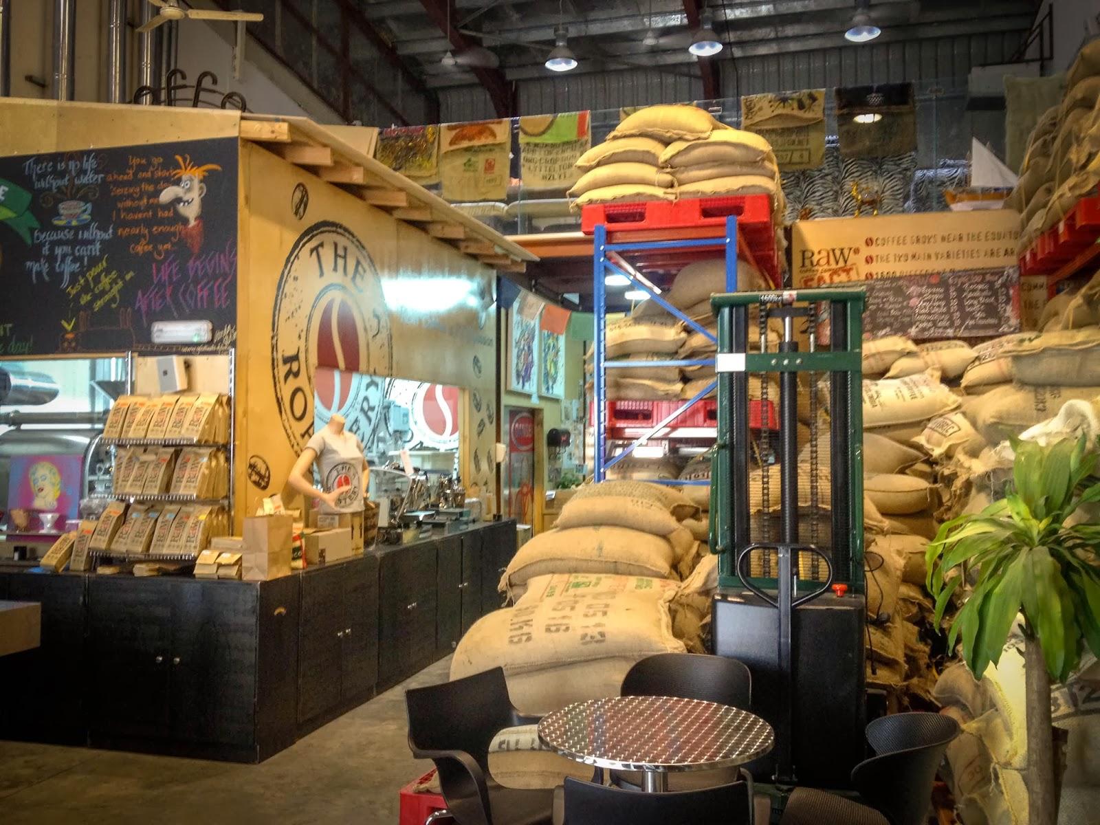Raw Coffee cafe in Dubai