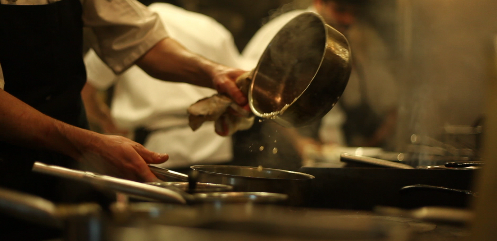 Kitchen Confessions; The Chef, The Kitchen, The Magic.