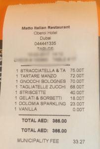 Matto Invoice